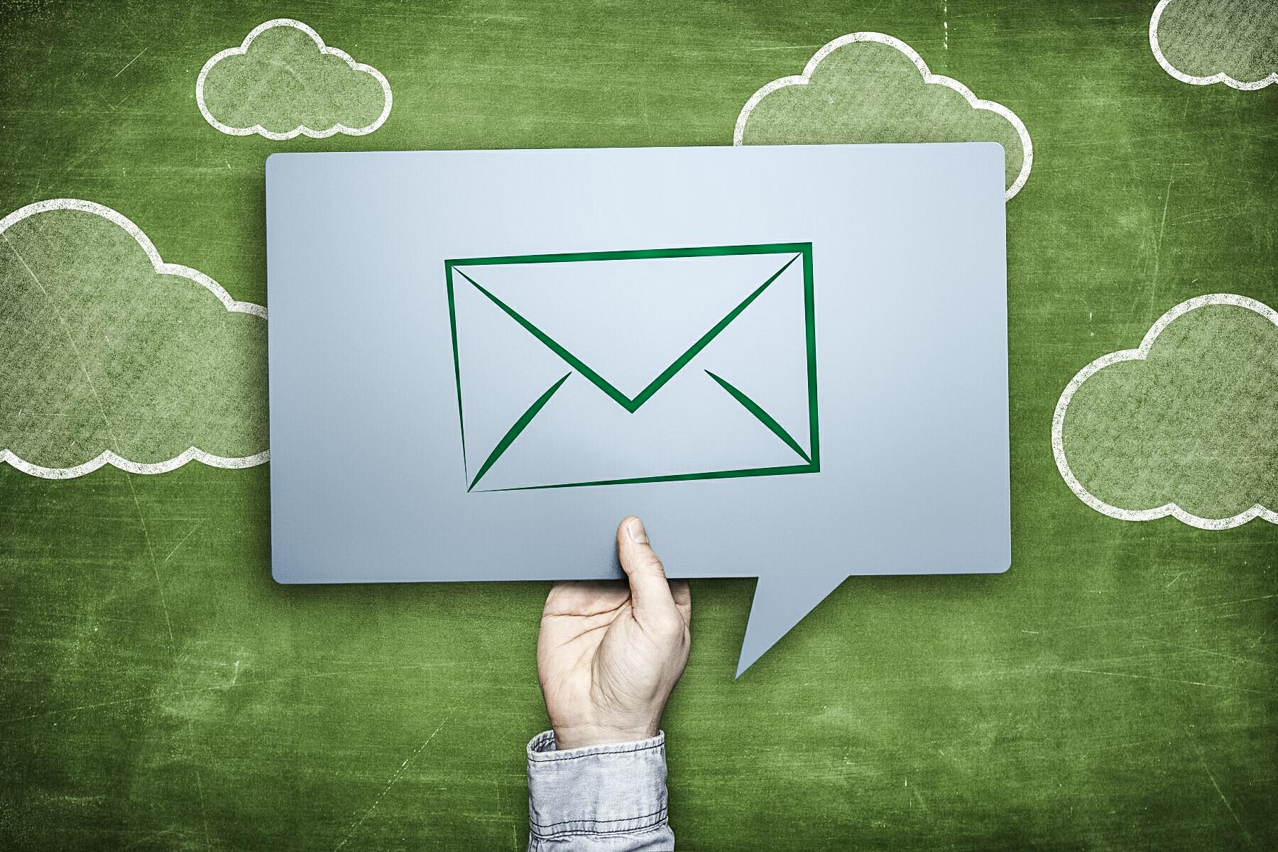 La signature email «verte»